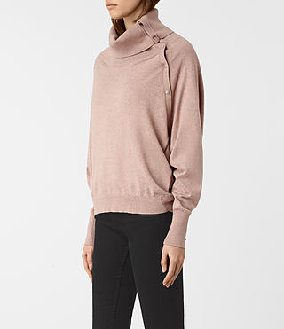 Womens Erin Sweater (CINDER ROSE PINK) - product_image_alt_text_3
