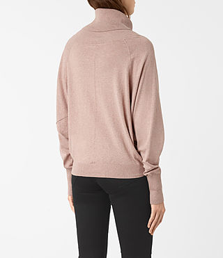 Womens Erin Sweater (CINDER ROSE PINK) - product_image_alt_text_4