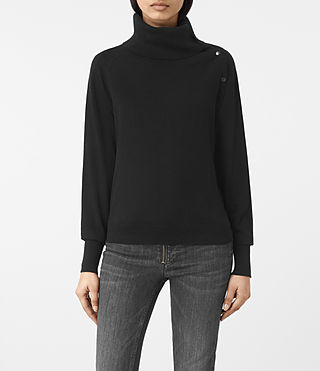 Damen Erin Jumper (Black) -