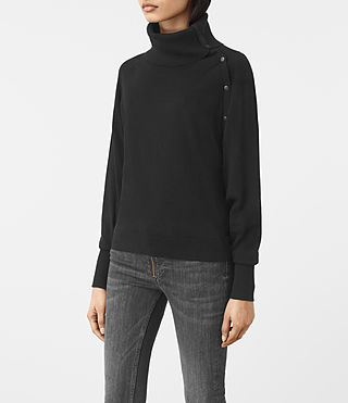 Damen Erin Jumper (Black) - product_image_alt_text_2