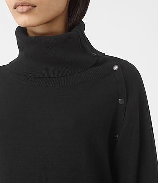 Damen Erin Jumper (Black) - product_image_alt_text_3