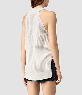Donne Manson Vest (PORCELAIN WHITE) - product_image_alt_text_3