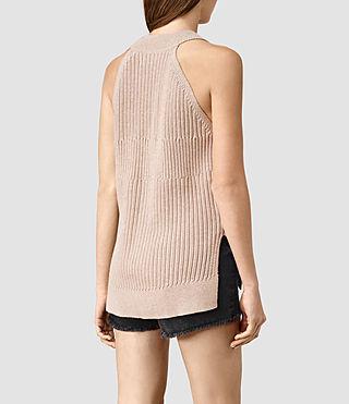 Damen Manson Vest (SandstonePinkMarl) - product_image_alt_text_3