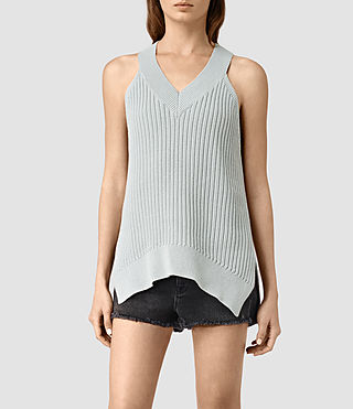 Damen Manson Vest (Light Blue)
