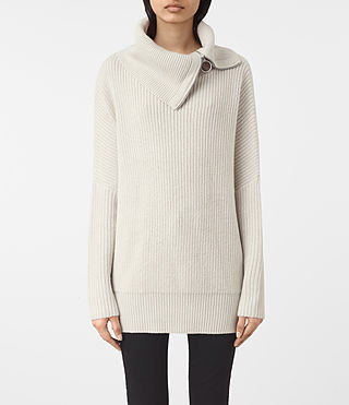 Womens Dano Sweater (PORCELAIN WHITE)