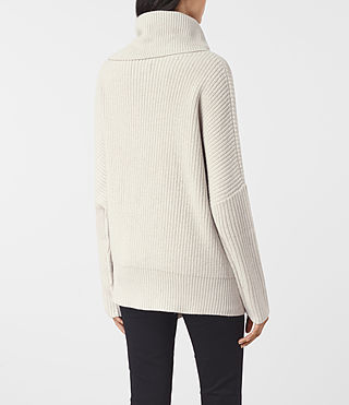 Mujer Dano Sweater (PORCELAIN WHITE) - product_image_alt_text_4