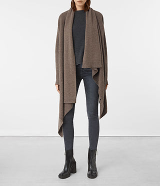 Damen Lori Blanket Cardigan (DARK DAWN) -