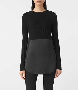 Damen Kowlo Jumper (Black) -