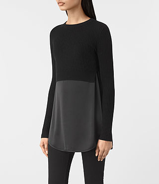 Damen Kowlo Jumper (Black) - product_image_alt_text_2