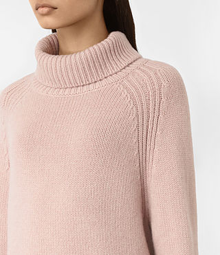 Womens Arrin Cashmere Sweater (Whisper Pink)