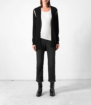 Donne Sonic Cardigan (Black)