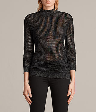 haze metallic sweater