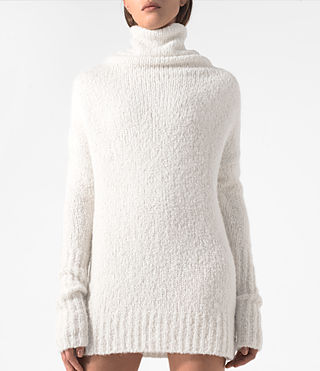 Damen Satellite Jumper (CREAM WHITE) - product_image_alt_text_2