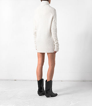Femmes Pull Satellite (CREAM WHITE) - product_image_alt_text_4