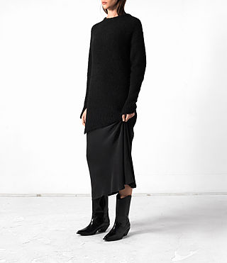 Femmes Satellite Crew (Black) - product_image_alt_text_3