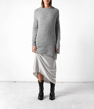 Damen Satellite Crew Jumper (Grey)