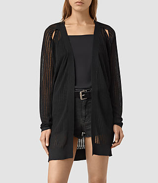 Womens Elos Cardigan (Black)