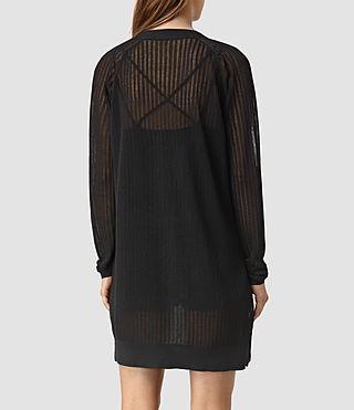 Mujer Elos Cardigan (Black) - product_image_alt_text_4