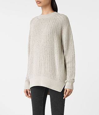 Mujer Lovisa Jumper (OYSTER WHITE) - product_image_alt_text_3