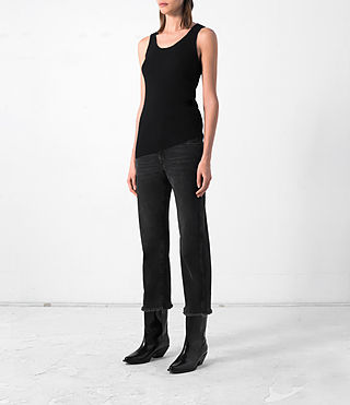 Damen Shins Vest (Black) - product_image_alt_text_3