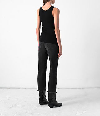 Damen Shins Vest (Black) - product_image_alt_text_4