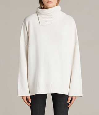 maran cashmere roll neck