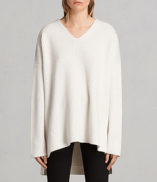 clea v-neck sweater