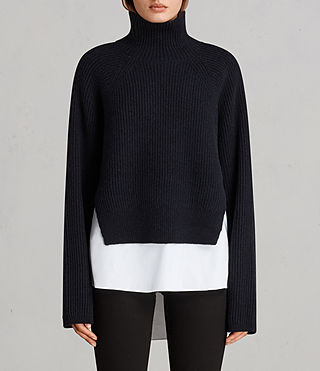 Womens Jones Sweater (Ink Blue) - Image 1