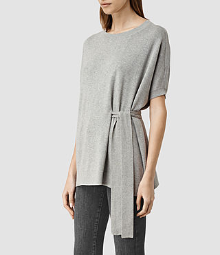 Donne Shera Top (Grey Marl) - product_image_alt_text_2