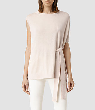 Damen Shera Top (ALMOND PINK MARL)