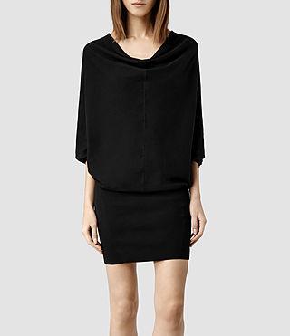 Women's Elgar Jumper Dress (Black)