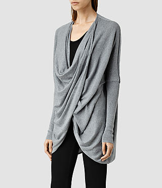 Womens 이타트 슈러그 (Grey Marl) - product_image_alt_text_2