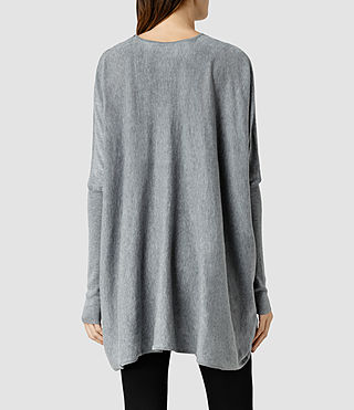 Womens 이타트 슈러그 (Grey Marl) - product_image_alt_text_3