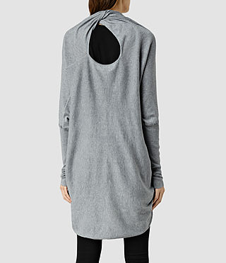 Womens 이타트 슈러그 (Grey Marl) - product_image_alt_text_4