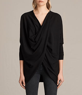 Womens Itat Shrug Cardigan (Black)