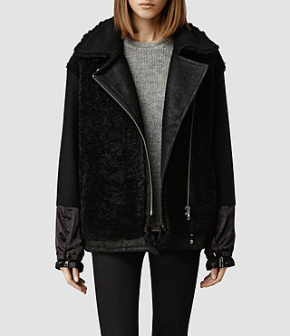 Womens Hainton Jacket (Black)