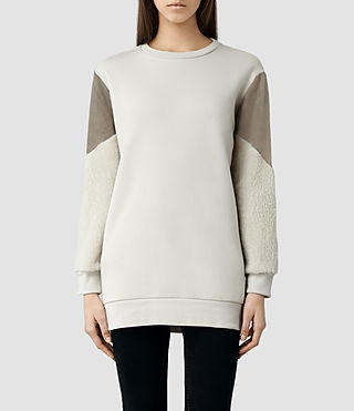 Womens Langer Sweat (Lunar Rock)