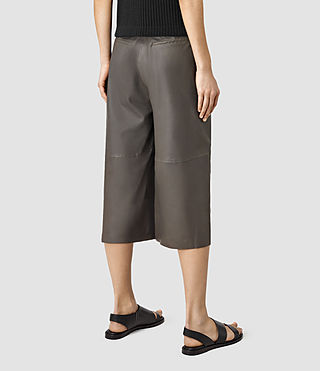 Women's Mitel Culottes (Slate Grey) - product_image_alt_text_4
