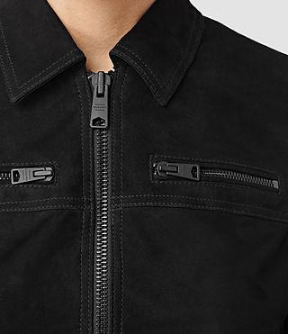 Donne Hopkins Leather Bomber Jacket (Black) - product_image_alt_text_2