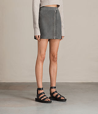 Damen Willow Skirt (GRAPHITE GREY) - product_image_alt_text_2