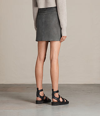 Damen Willow Skirt (GRAPHITE GREY) - product_image_alt_text_3