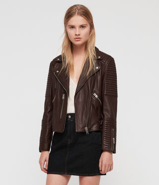 Estella Leather Biker Jacket