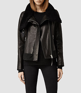 Womens Casset Jacket (Black)