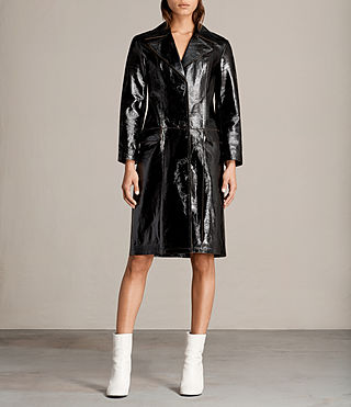Donne Trench Payton (Black) - Image 1