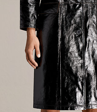 Donne Trench Payton (Black) - product_image_alt_text_3