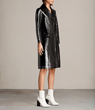 Donne Trench Payton (Black) - product_image_alt_text_4