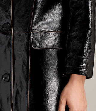 Donne Trench Payton (Black) - product_image_alt_text_5
