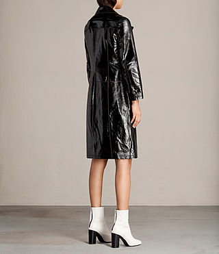 Donne Trench Payton (Black) - Image 8