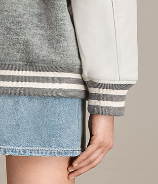 Femmes Bomber Base (LIGHT GREY/OYSTER) - product_image_alt_text_4