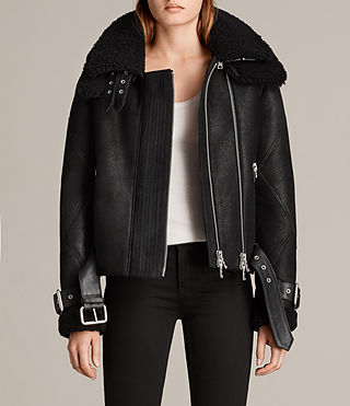 cazadora howell shearling